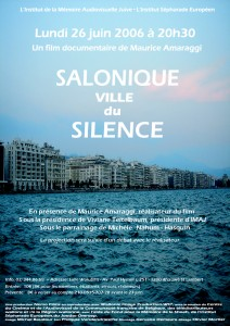 Salonique, Ville du Silence